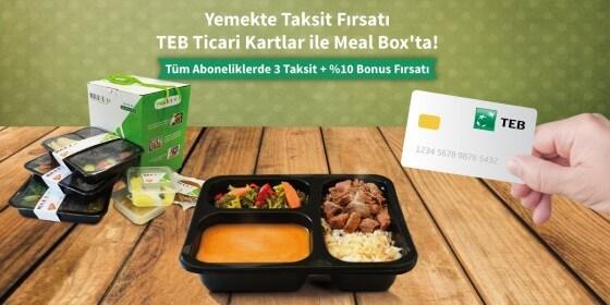 Abonelik Sistemi - Meal Box abonelik yöntemi ile hizmet veriyor