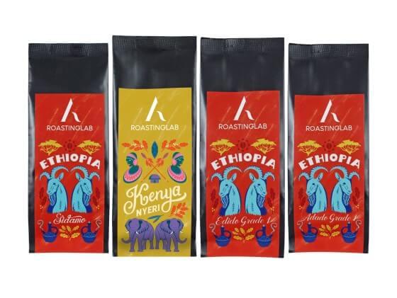 Doypack Kahve Üretimi