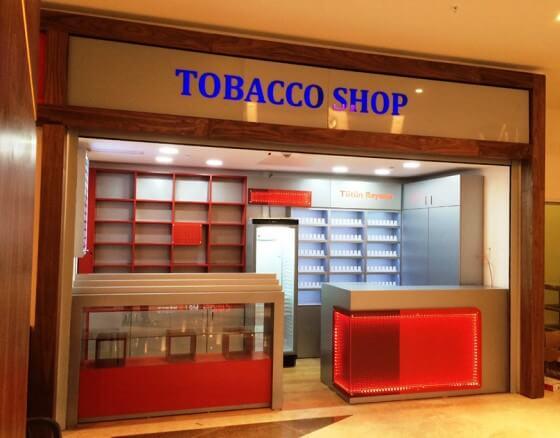 Tobacco Shop Açma
