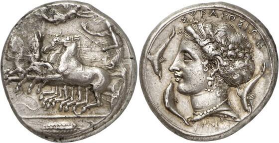 Antik Yunan Gümüş Paraları