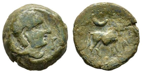Bronz Yunan Paraları