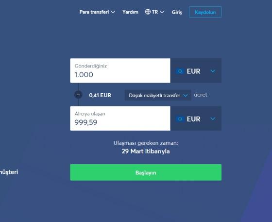 Transferwise ile Almanya'dan Türkiye'ye Para Gönderme
